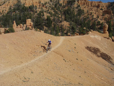 Thunder Mountain hoodo singletrack